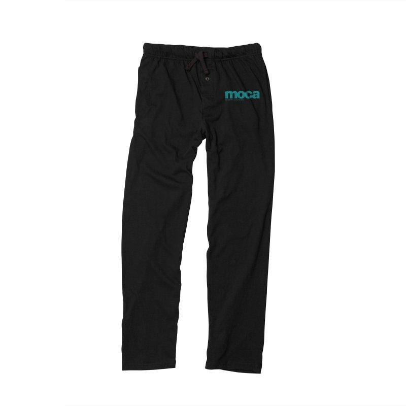 MOCA Logo Men's Lounge Pants by MOCAshop's Artist Shop