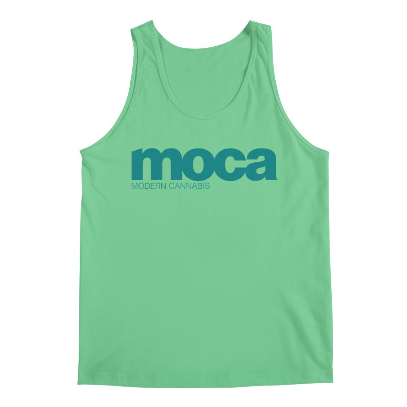 MOCA Logo Men's Tank by MOCA