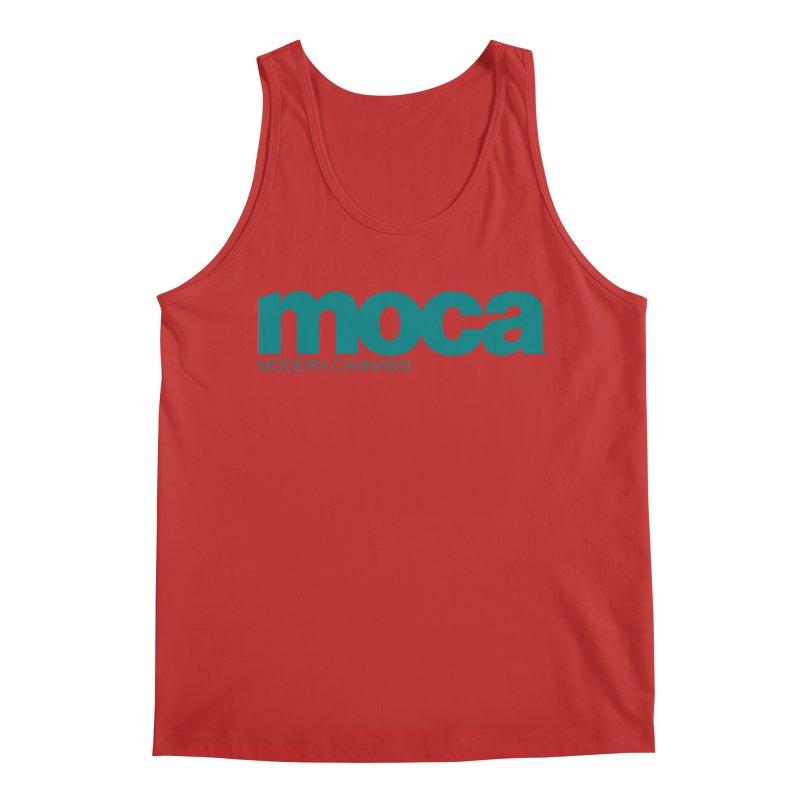 MOCA Logo Men's Tank by MOCA