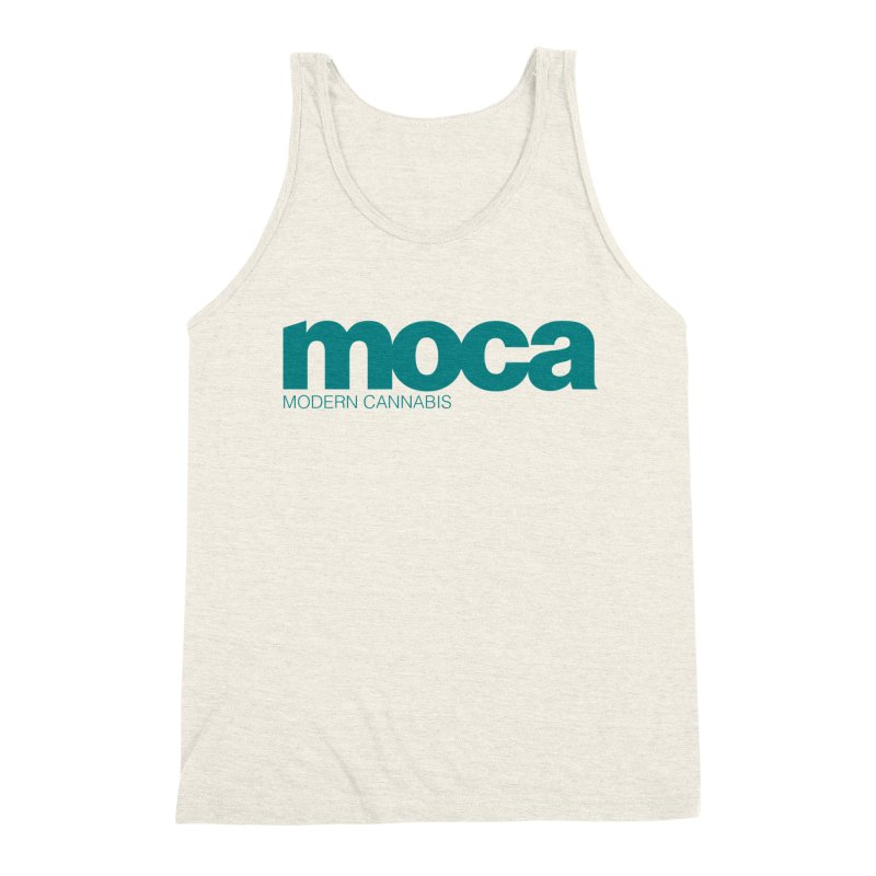 MOCA Logo Men's Triblend Tank by MOCA