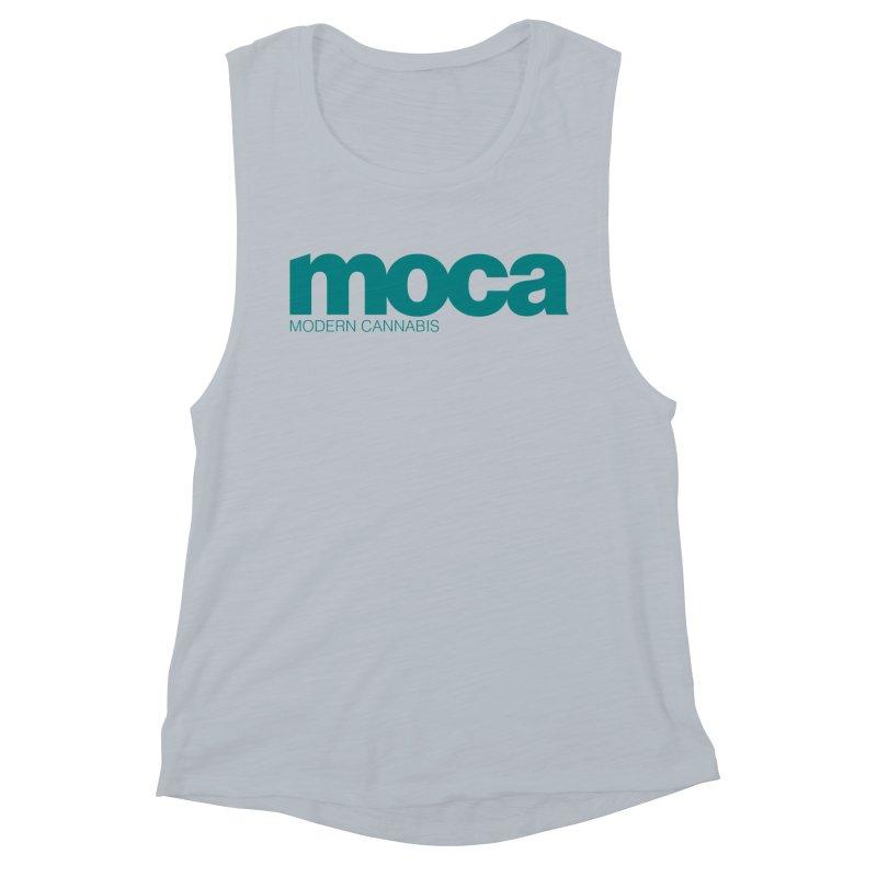 MOCA Logo Women's Tank by MOCA