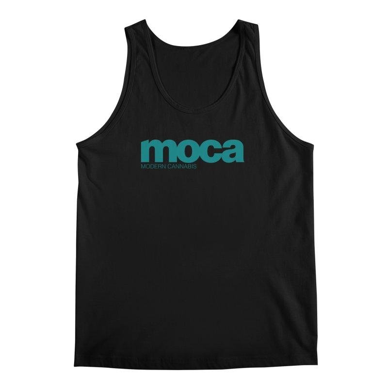 MOCA Logo Men's Regular Tank by MOCA