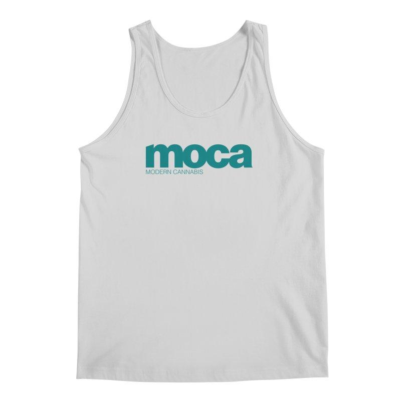MOCA Logo Men's Regular Tank by MOCAshop's Artist Shop