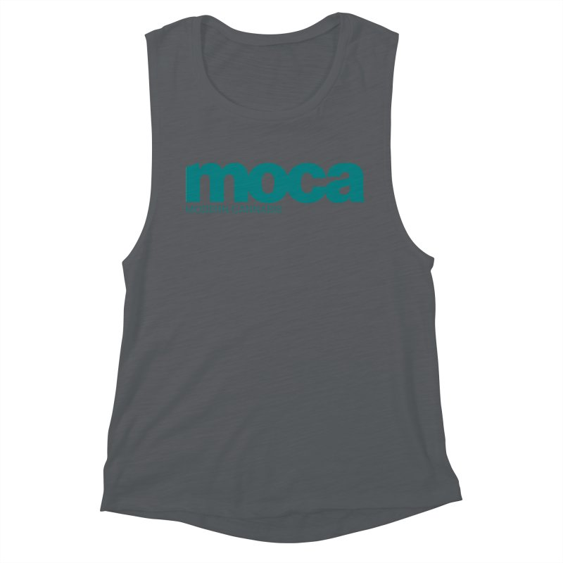 MOCA Logo Women's Muscle Tank by MOCA