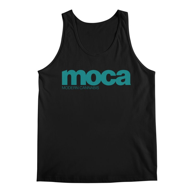 MOCA Logo Men's Regular Tank by MOCA