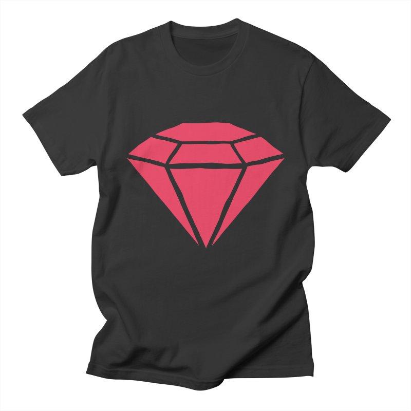 R U B Y Men's T-shirt by †  B A C Ŧ E R I A  †