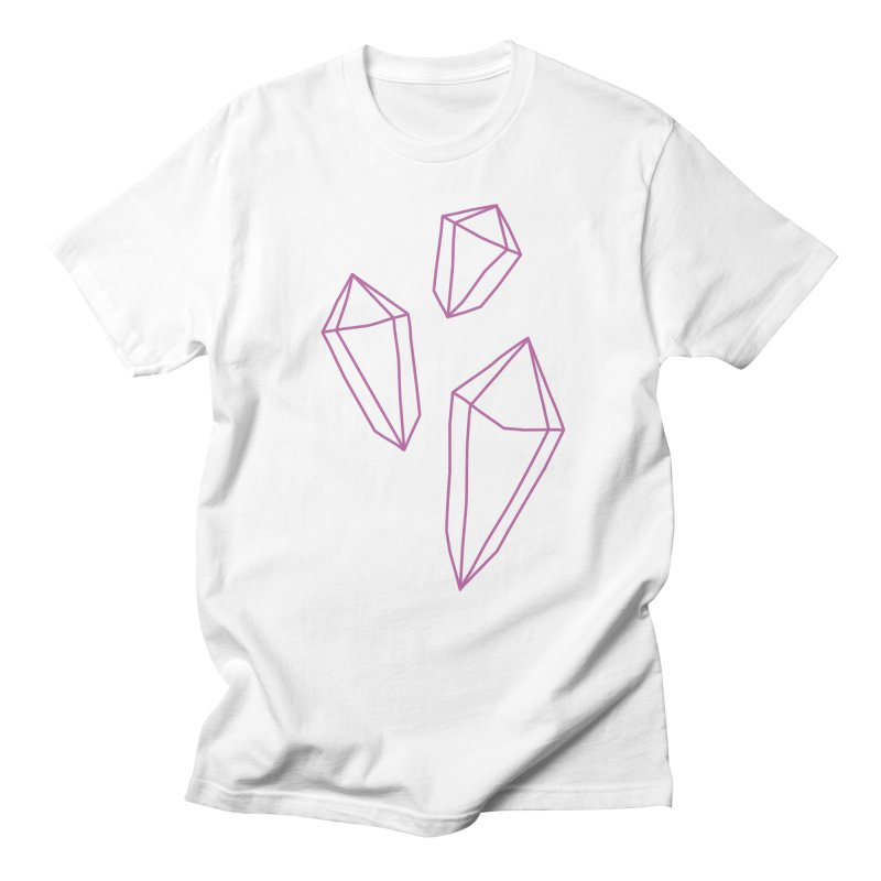 Power Crystals Men's T-Shirt by †  B A C Ŧ E R I A  †