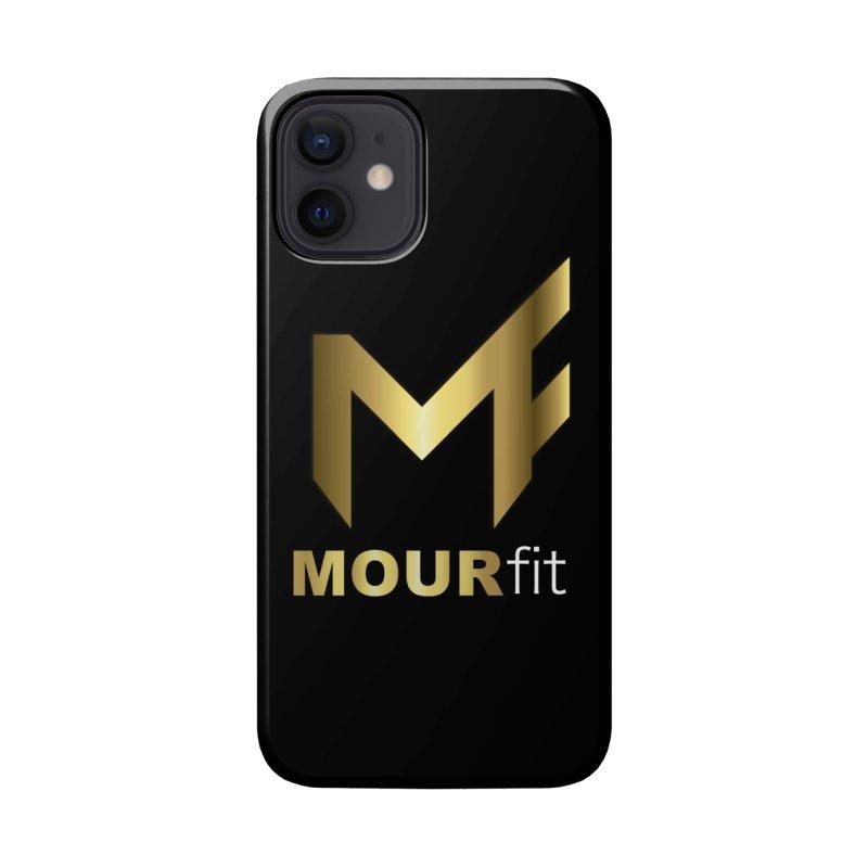 Black Label Accessories Phone Case by MOUR Fit's Artist Shop