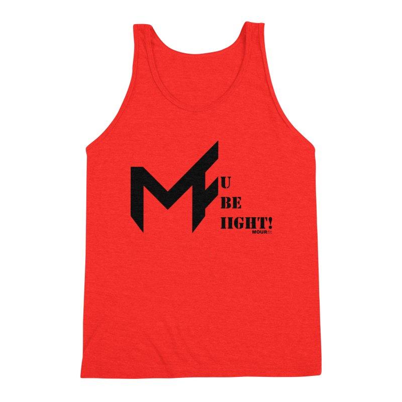 Black Label Men's Tank by MOUR Fit's Artist Shop