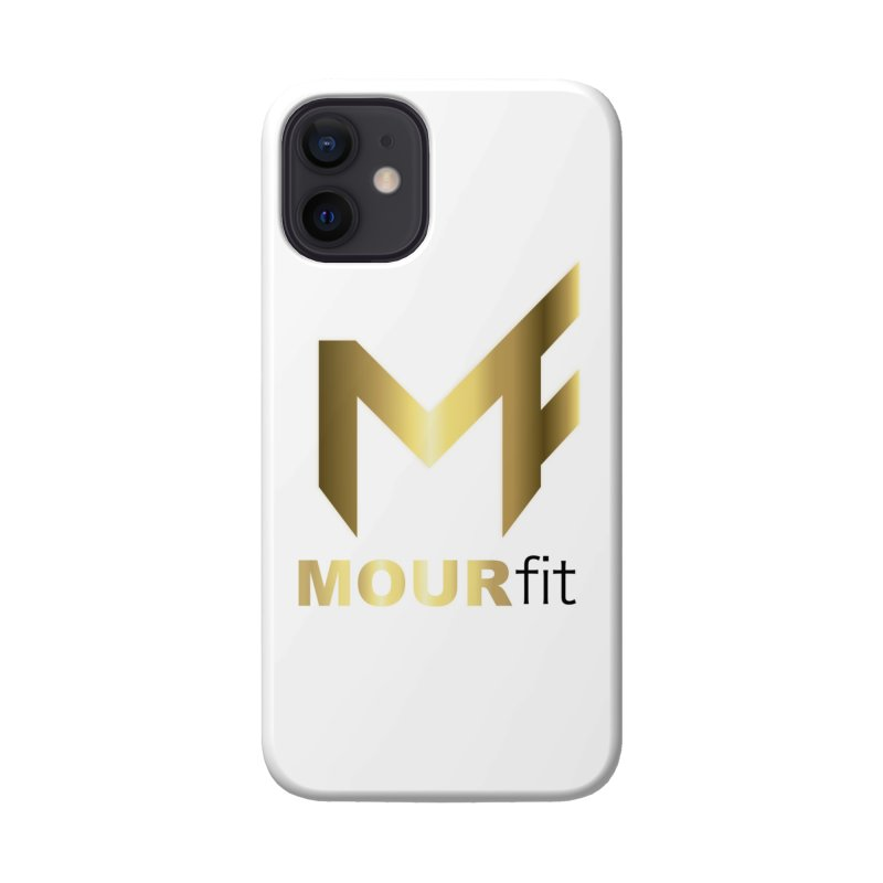White Label Accessories Phone Case by MOUR Fit's Artist Shop