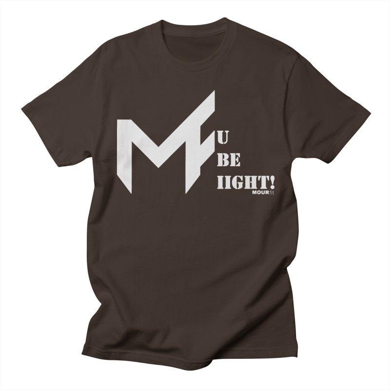 White Label Men's T-Shirt by MOUR Fit's Artist Shop