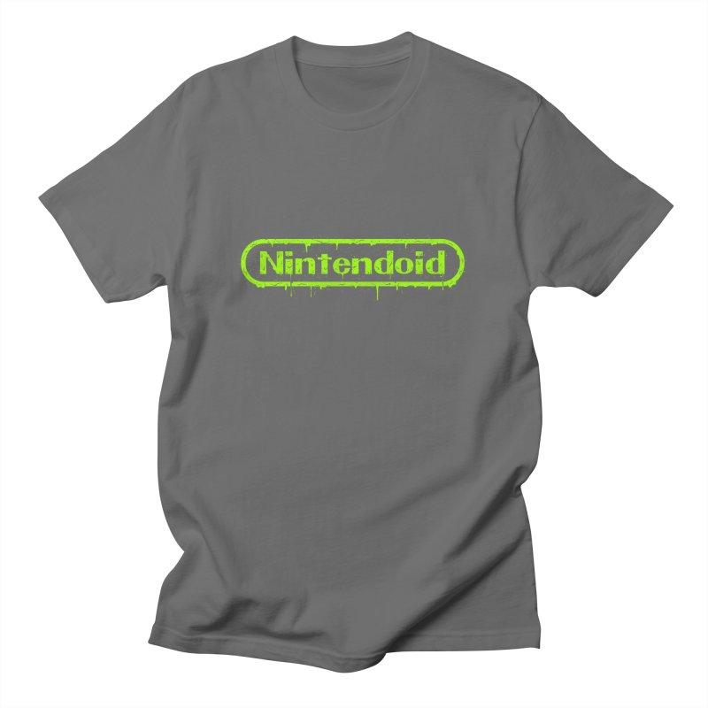 Nintendoid Men's T-Shirt by UNDEAD MISTER