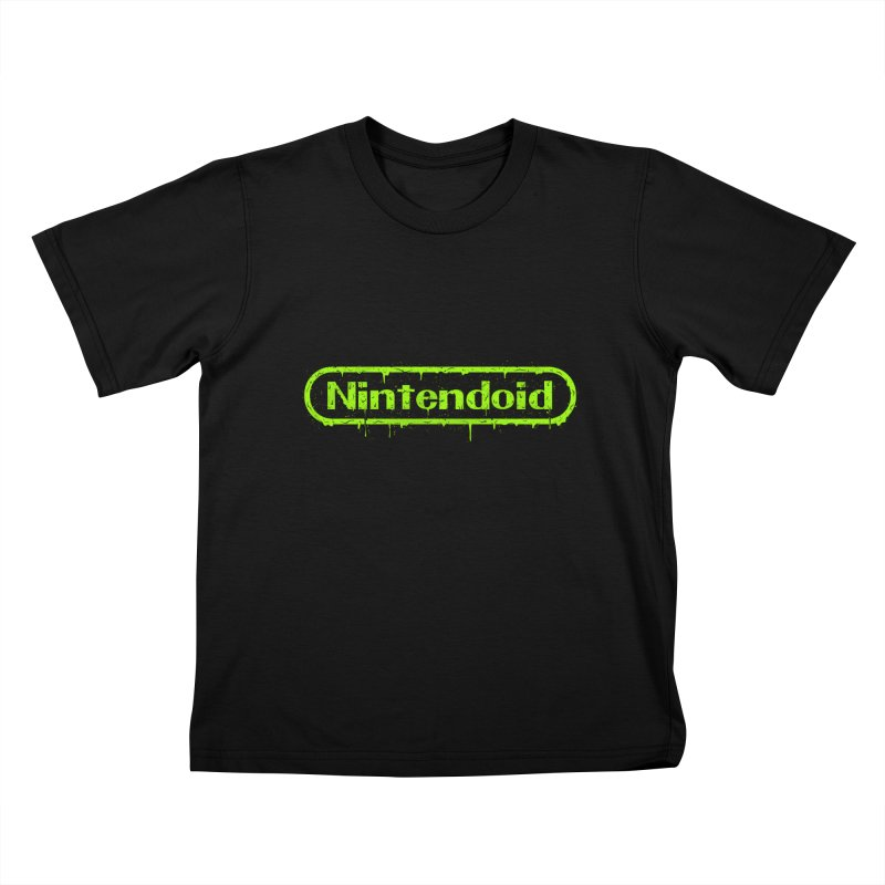 Nintendoid Kids T-Shirt by UNDEAD MISTER