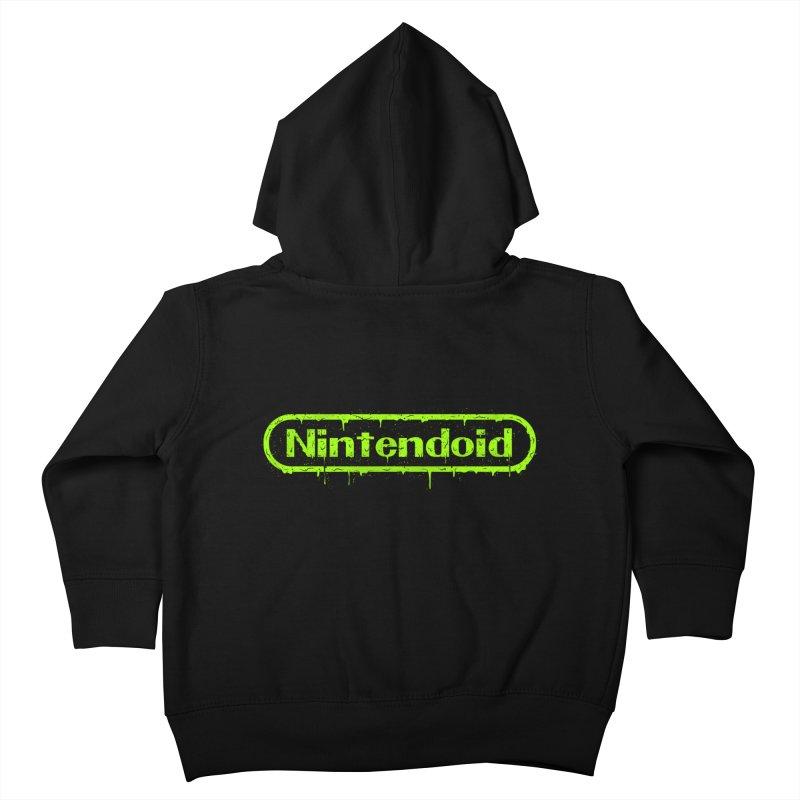 Nintendoid Kids Toddler Zip-Up Hoody by UNDEAD MISTER