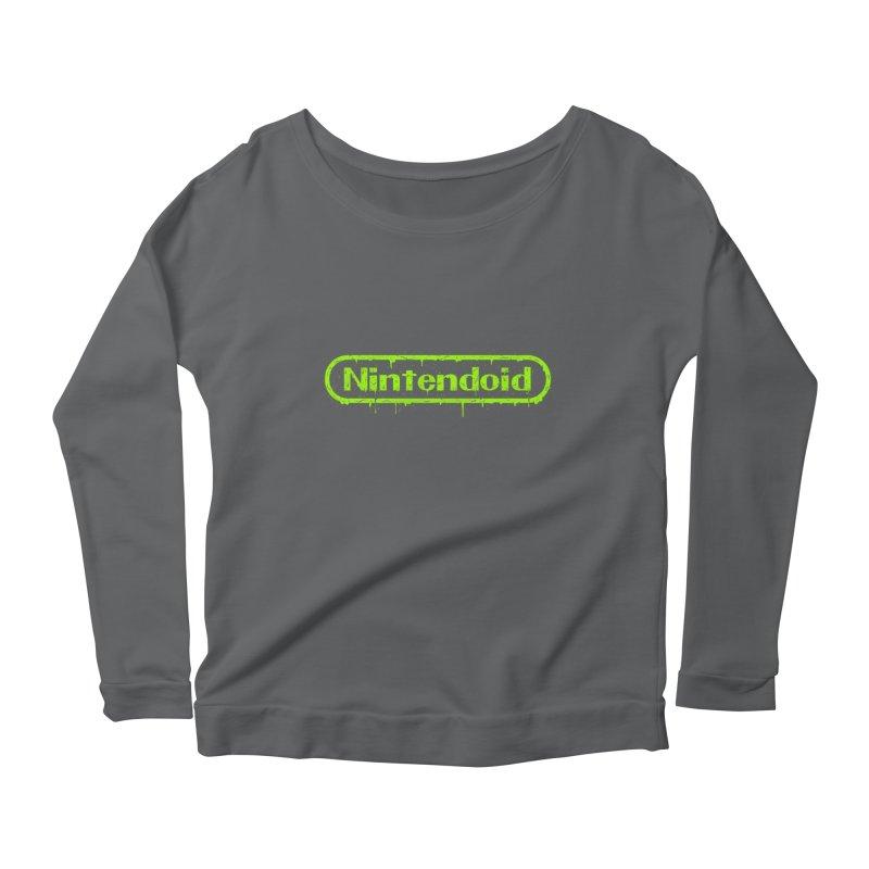 Nintendoid Women's Longsleeve T-Shirt by UNDEAD MISTER