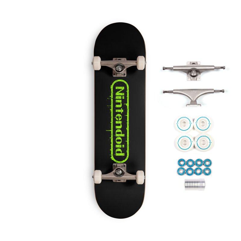 Nintendoid Accessories Skateboard by UNDEAD MISTER