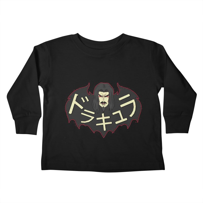 Dorakyura Kids Toddler Longsleeve T-Shirt by UNDEAD MISTER
