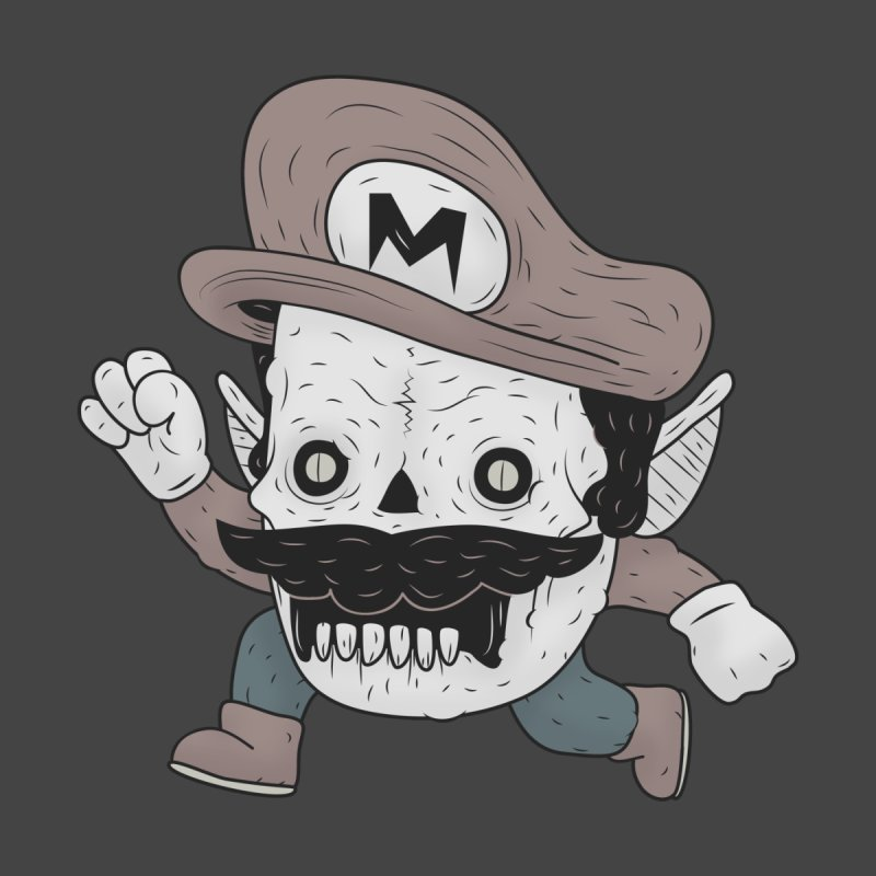 UNDEAD MARIO   by UNDEAD MISTER