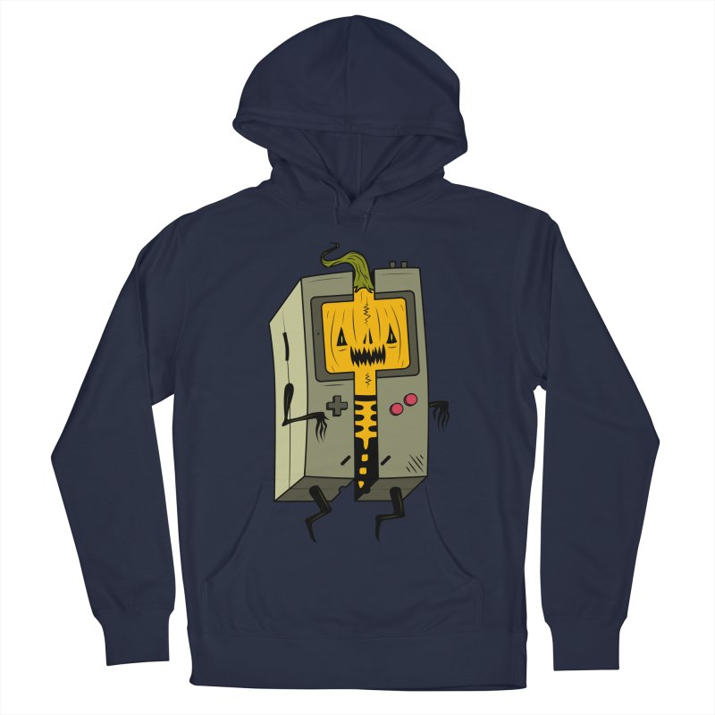 HALLOWEEN BOY Women's French Terry Pullover Hoody by UNDEAD MISTER