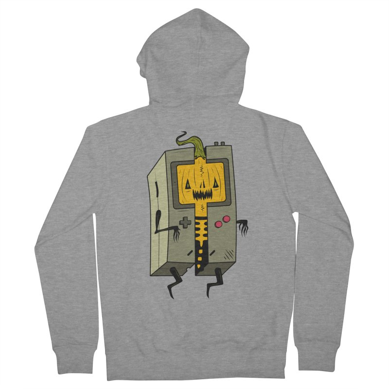 HALLOWEEN BOY Men's French Terry Zip-Up Hoody by UNDEAD MISTER
