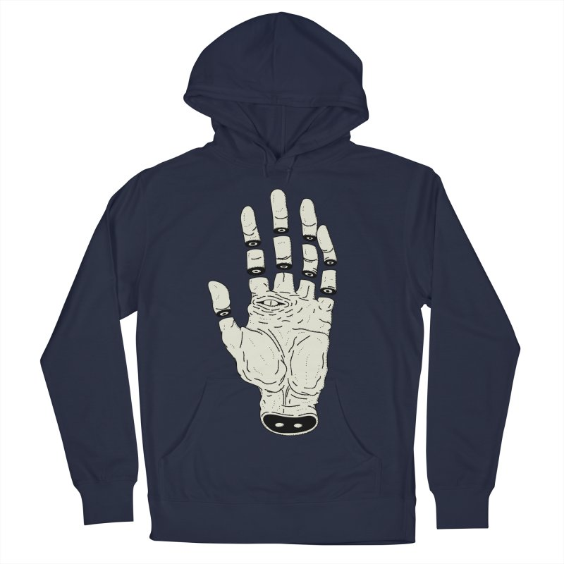 THE HAND OF DESTINY - LA MANO DEL DESTINO Women's French Terry Pullover Hoody by UNDEAD MISTER