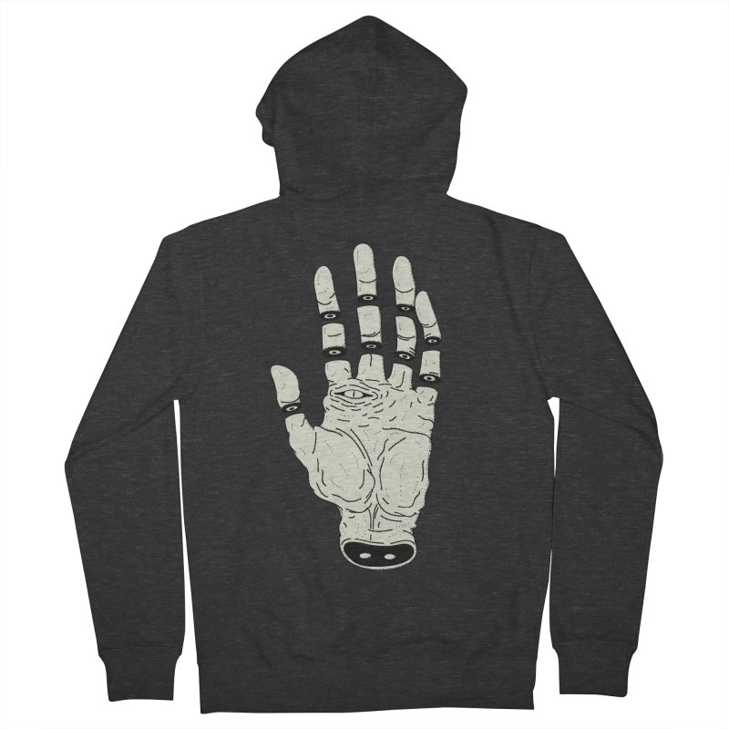 THE HAND OF DESTINY - LA MANO DEL DESTINO Women's Zip-Up Hoody by UNDEAD MISTER