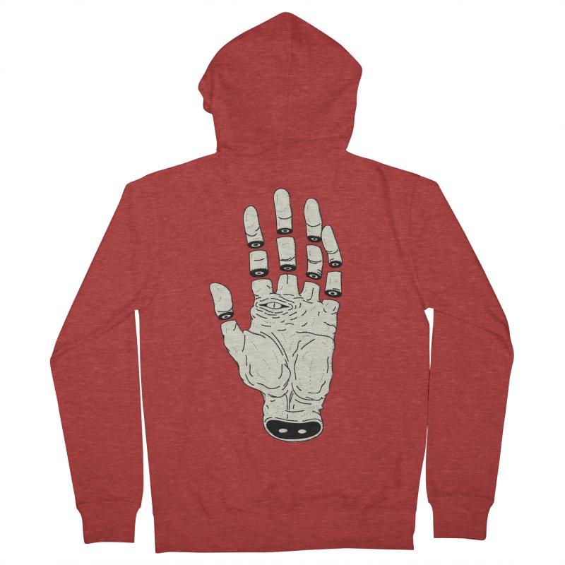 THE HAND OF DESTINY - LA MANO DEL DESTINO Women's Zip-Up Hoody by UNDEAD MISTER