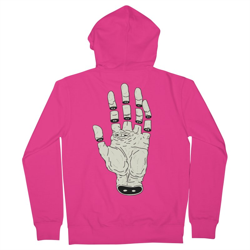 THE HAND OF DESTINY - LA MANO DEL DESTINO Men's Zip-Up Hoody by UNDEAD MISTER