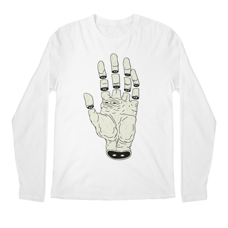 THE HAND OF DESTINY - LA MANO DEL DESTINO Men's Longsleeve T-Shirt by UNDEAD MISTER