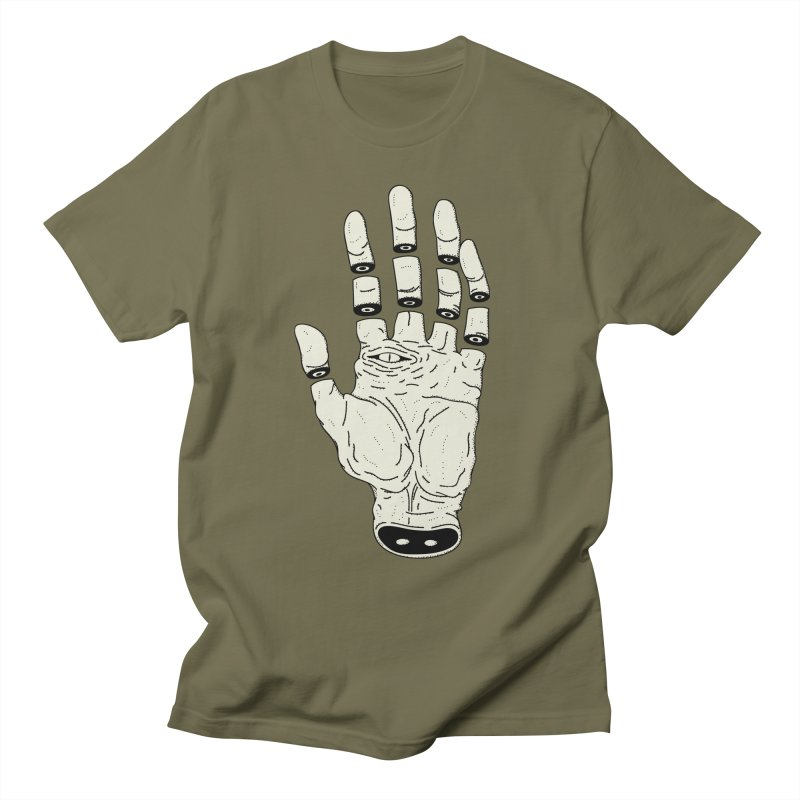 THE HAND OF DESTINY - LA MANO DEL DESTINO Men's T-Shirt by UNDEAD MISTER
