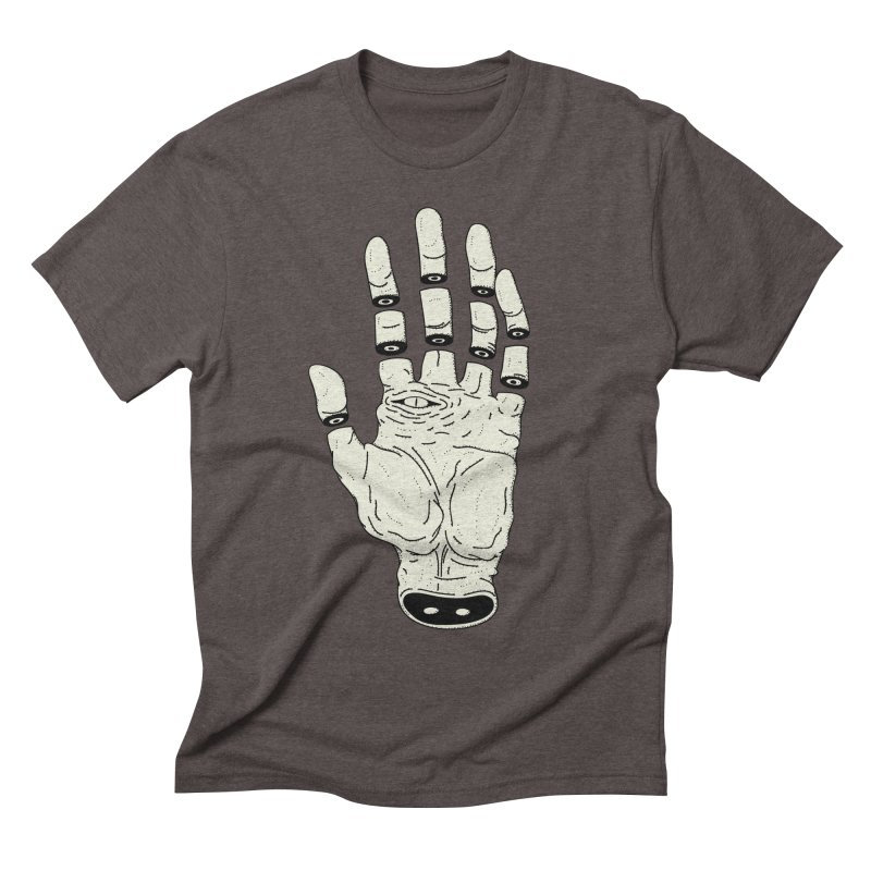 THE HAND OF DESTINY - LA MANO DEL DESTINO Men's Triblend T-Shirt by UNDEAD MISTER