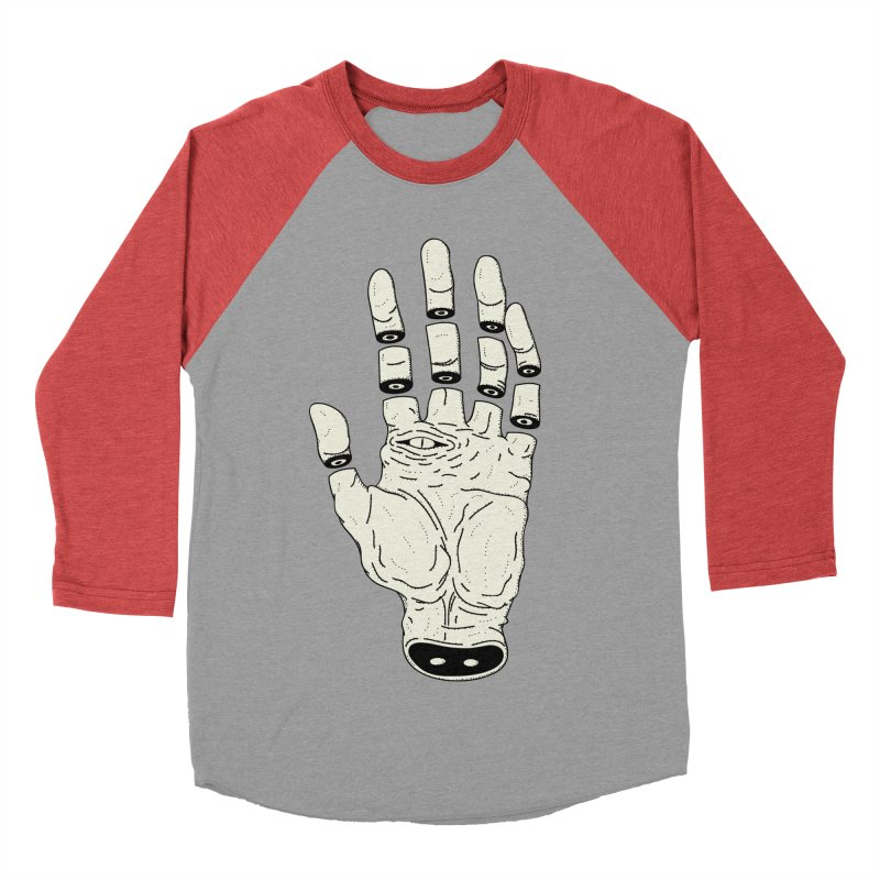 THE HAND OF DESTINY - LA MANO DEL DESTINO Women's Baseball Triblend T-Shirt by UNDEAD MISTER