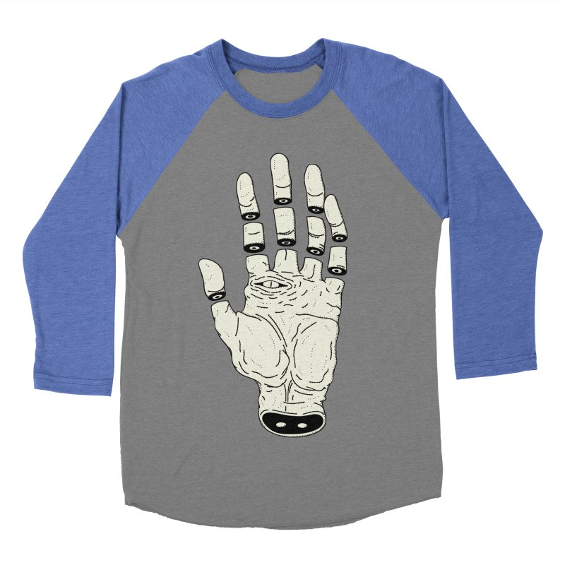 THE HAND OF DESTINY - LA MANO DEL DESTINO Men's Baseball Triblend T-Shirt by UNDEAD MISTER