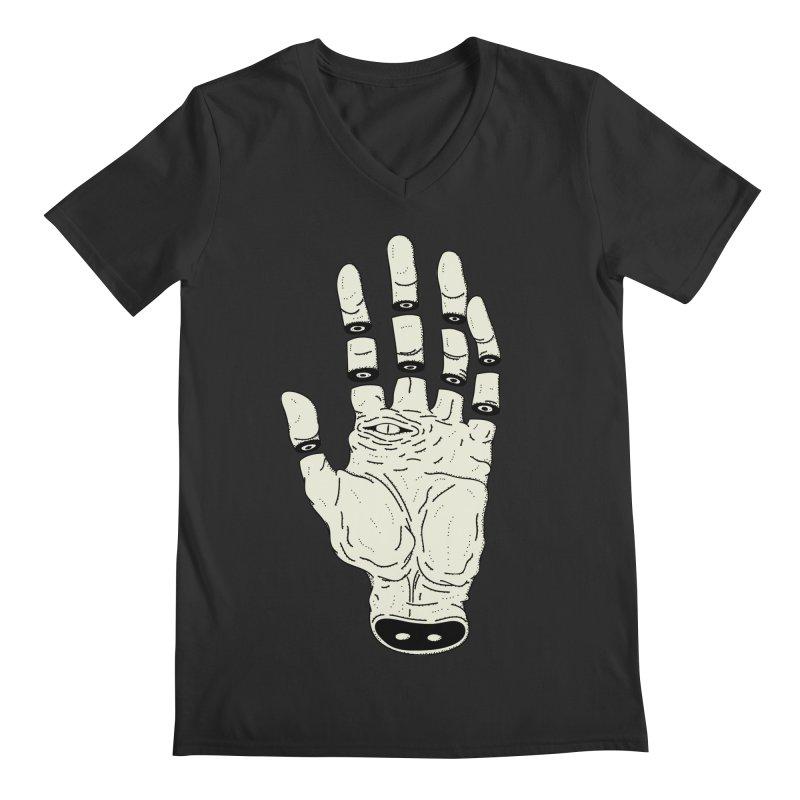 THE HAND OF DESTINY - LA MANO DEL DESTINO Men's V-Neck by UNDEAD MISTER