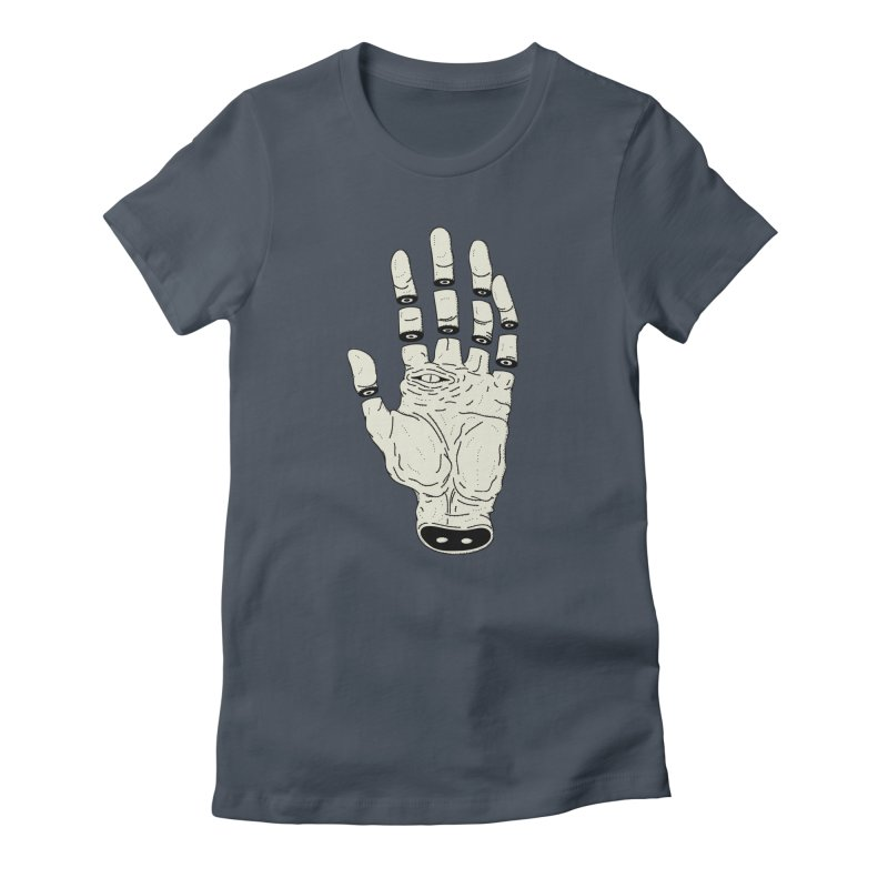 THE HAND OF DESTINY - LA MANO DEL DESTINO Women's T-Shirt by UNDEAD MISTER