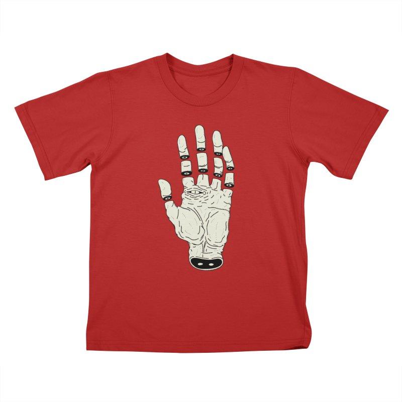 THE HAND OF DESTINY - LA MANO DEL DESTINO Kids T-shirt by UNDEAD MISTER