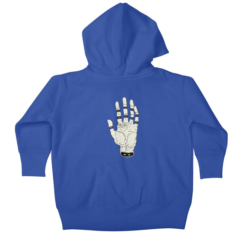 THE HAND OF DESTINY - LA MANO DEL DESTINO Kids Baby Zip-Up Hoody by UNDEAD MISTER