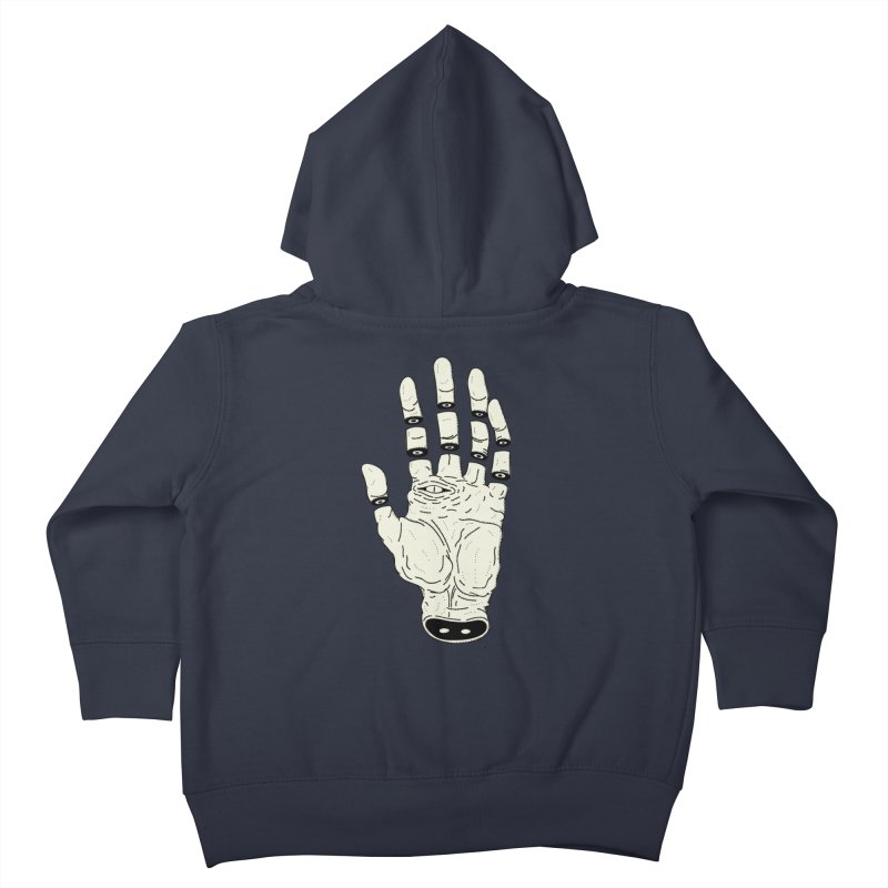 THE HAND OF DESTINY - LA MANO DEL DESTINO Kids Toddler Zip-Up Hoody by UNDEAD MISTER