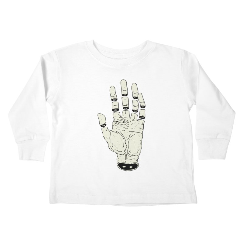 THE HAND OF DESTINY - LA MANO DEL DESTINO Kids Toddler Longsleeve T-Shirt by UNDEAD MISTER