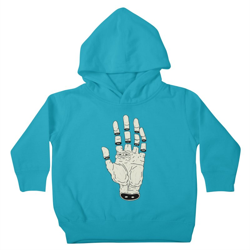 THE HAND OF DESTINY - LA MANO DEL DESTINO Kids Toddler Pullover Hoody by UNDEAD MISTER
