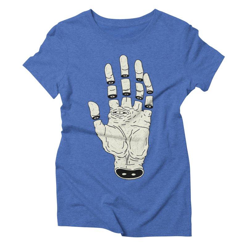 THE HAND OF DESTINY - LA MANO DEL DESTINO Women's Triblend T-Shirt by UNDEAD MISTER