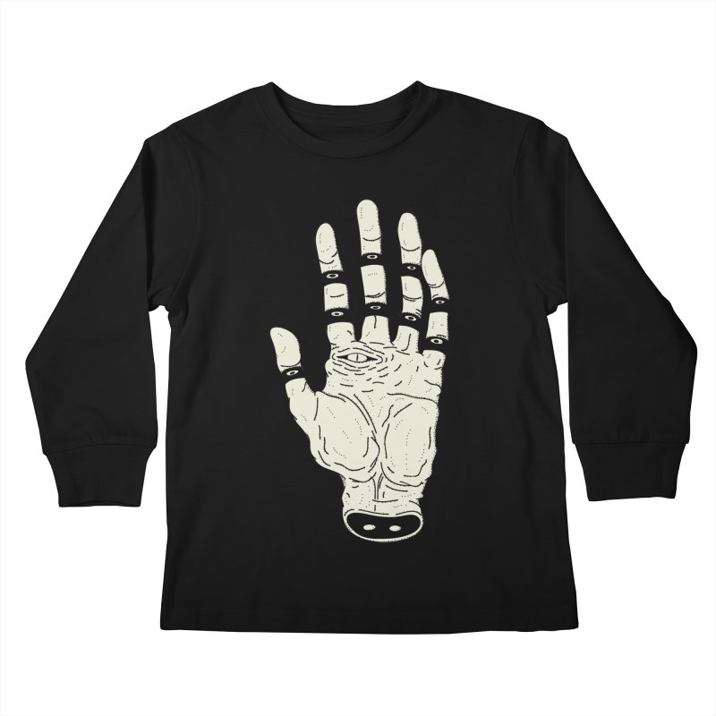 THE HAND OF DESTINY - LA MANO DEL DESTINO Kids Longsleeve T-Shirt by UNDEAD MISTER