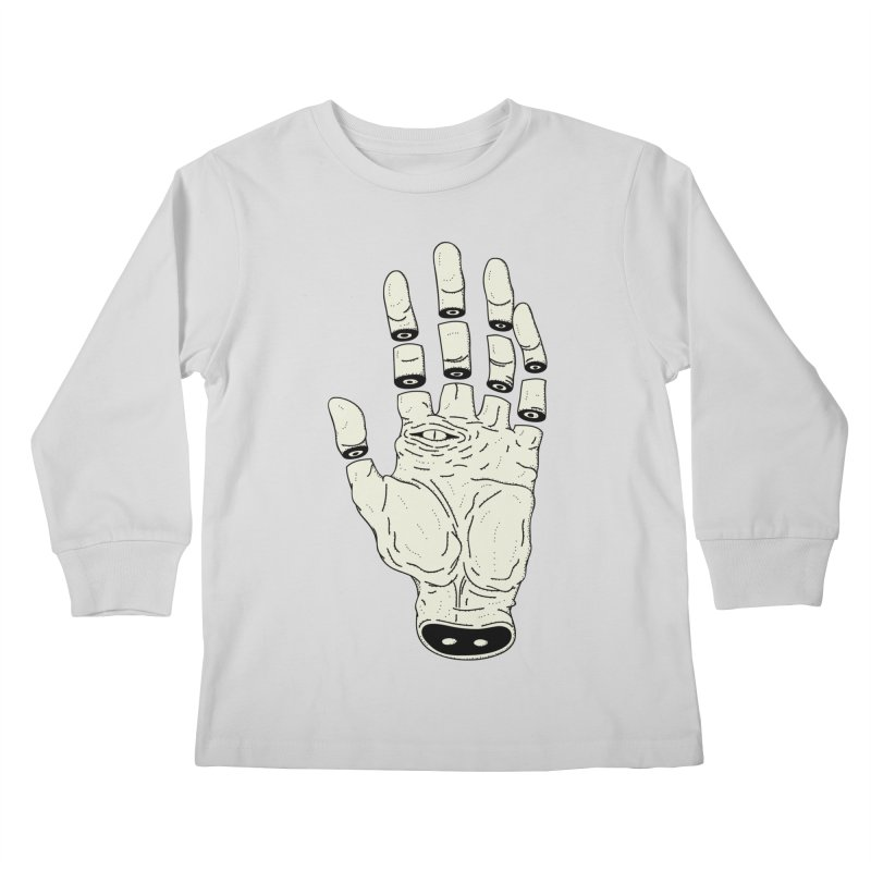 THE HAND OF DESTINY - LA MANO DEL DESTINO Kids Longsleeve T-Shirt by UNDEAD MISTER