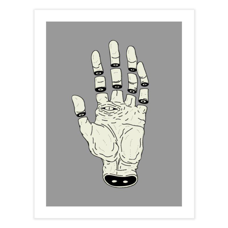 THE HAND OF DESTINY - LA MANO DEL DESTINO Home Fine Art Print by UNDEAD MISTER