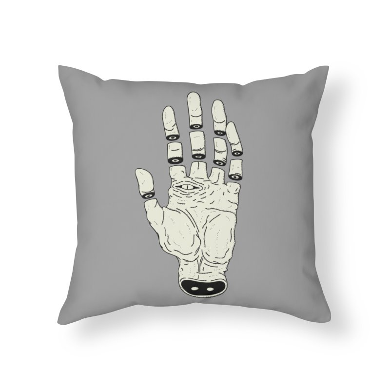 THE HAND OF DESTINY - LA MANO DEL DESTINO Home Throw Pillow by UNDEAD MISTER