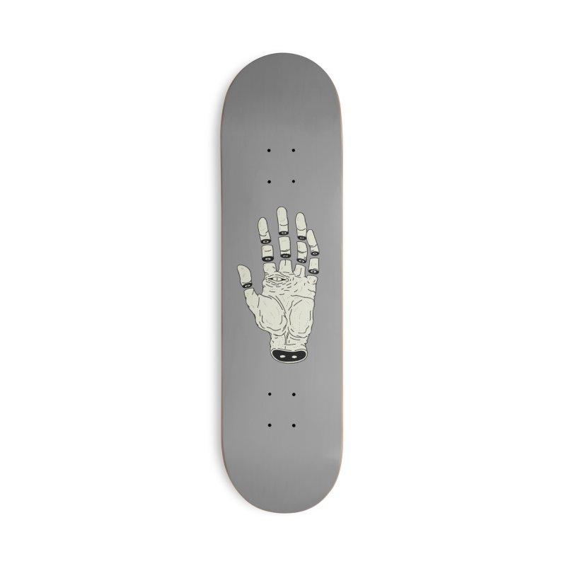 THE HAND OF DESTINY - LA MANO DEL DESTINO Accessories Skateboard by UNDEAD MISTER