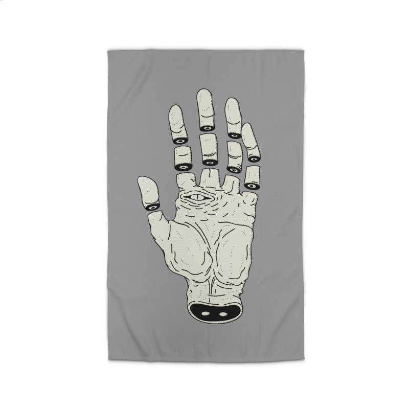 THE HAND OF DESTINY - LA MANO DEL DESTINO Home Rug by UNDEAD MISTER
