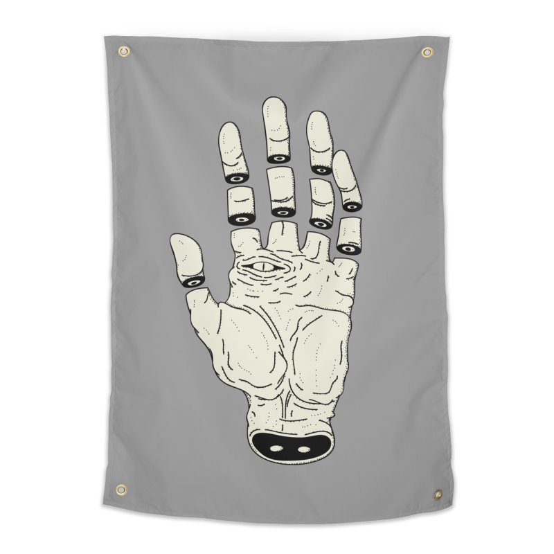 THE HAND OF DESTINY - LA MANO DEL DESTINO Home Tapestry by UNDEAD MISTER
