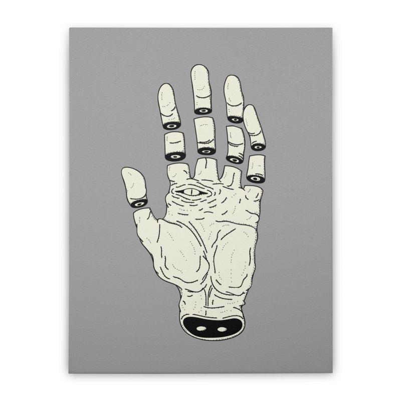 THE HAND OF DESTINY - LA MANO DEL DESTINO Home Stretched Canvas by UNDEAD MISTER