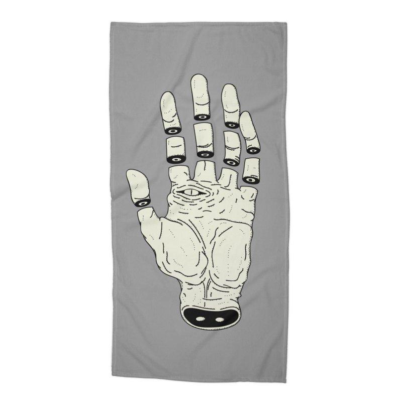 THE HAND OF DESTINY - LA MANO DEL DESTINO Accessories Beach Towel by UNDEAD MISTER